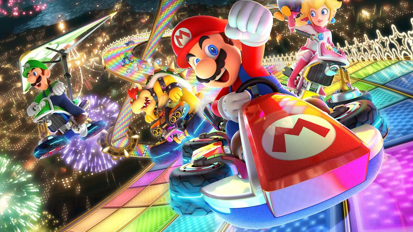 Foto de la portada de Mario Kart 8 Deluxe